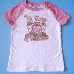 BRG011 The Children's Place เสื้อยืดแขนสั้นลายสกรีนปักเลื่อม A True Princess Size 5 / 7 ขวบ