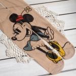 [พร้อมส่ง] T3601 ถุงน่องสีเนื้อ พิมพ์ลายมินนี่เม้าส์ Minnie Mouse