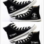 รองเท้าผ้าใบหุ้มข้อ TFBOYS