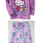 PJN065 เสื้อผ้าเด็ก ชุดนอน baby Gap Made in Malasia งานส่งออก USA เกรดเอ เหลือ Size 90