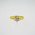 แหวนเพชรดาวก้านแหวนโซ่