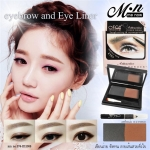 Me Now Attractive Eyebrow Powder long lasting & Waterproof with black eyeliner pencil