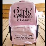กระเป๋าเป้ Girl's Generation