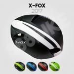หมวกจักรยาน X-FOX Aero Dynamic มีแว่น ,XF17
