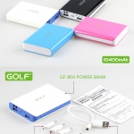 Golf Power Bank 10400 mAh GF-804