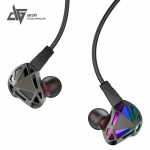 Auglamour RT-1 หูฟัง Hybrid 2 ไดร์เวอร์ 1DD+1BA ถอดสายได้ ขั้วแบบ 2pins