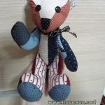 ชุด Kit ตุ๊กตาหมี ขนาด 1 ฟุต - ผ้าจัดให้ตามความเหมาะสมนะคะ แจ้งโทนได้ค่ะ