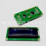 LCD Module 16x2 ตัวหนังสือสีขาว Blue Screen