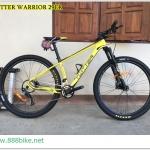 จักรยานเสือภูเขา TWITTER WARRIOR เฟรมคาร์บอน 22 สปีด SLX,โช๊คลม 2017 ล้อ 29er