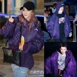 แจ็กเก็ตฮู้ดผ้าร่ม (Jacket Hoodie) Total Fucking Darkness แบบ Dara+Kris+Zico