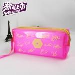 กระเป๋าดินสอ EXO สีชมพู ลายเซ็น