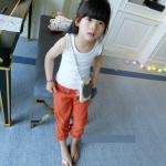 กางเกงเด็กสีส้ม [size 2y-3y-4y-5y-6y]