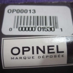 "Opinel Fish Fillet Knife. 5"" Closed, Walnut handle"