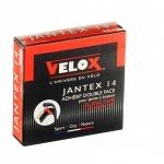 เทปกาวสองหน้าสำหรับยางฮาล์ฟ Velox Jantex 14 tubular tape for carbon rims( สำหรับ 2 วง)
