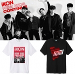 เสื้อยืด เสื้อแฟชั่นไอดอล #iKON NEW KIDS CONTINUE (พรีออเดอร์)