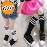 [ไซส์เด็ก] K7660 ถุงเท้าเด็ก แบบครึ่งเข่า สไตล์ญี่ปุ่น สุดน่ารัก