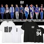 เสื้อยืดแฟชั่นไอดอลเกาหลี #NCT127 LIMITLESS (ระบุไซส์ที่ข่องหมายเหตุ)