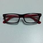กรอบแว่นตา Ray-Ban RB5162 กรอบดำขาแดง