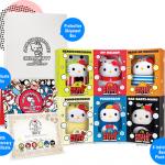 คิตตี้คอลเลกชั่นสะสม Celebration Set Bubbly World Series of Hello Kitty's 40th anniversary from Singapore ( set 6 ชิ้น + ใบcertificate) **สนใจสอบถามได้จ้า**
