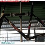 เฟรมจักรยานเสือหมอบ TRIGON size 50cm.พร้อมตะเกียบหน้า+ถ้วยคอ+หลักอานคาร์บอน