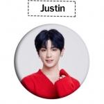 เข็มกลัด Justin - Idol Producer