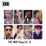การ์ดเซต EXO THE WAR (Regular B ver.)