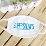ผ้าปิดปากSJ SUPER SHOW5 (สีขาว)