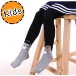 [ไซส์เด็ก] K6699 เลกกิ้งเด็กลายแมวน้อย