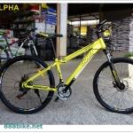 """จักรยานเสือภูเขา WCI """"Alpha""""เฟรมเหล็ก 21 สปีด วงล้อ 27.5 ปี 2016"""