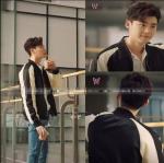 เสื้อแจ็กเก็ค ขาวดำ แบบ Lee Jongsuk ในซีรี่ย์ W