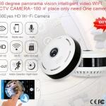 Panoramic Wifi IP Cloud Camera 360 องศา กล้องวงจรปิดรุ่นใหม่ มองได้รอบทิศทาง