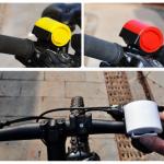 แตรจักรยาน LEI HAO 90 เดซิเบลมีสีดำ