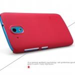 Case HTC Desire 526 ยี่ห้อ Nillkin รุ่น Super Frosted สีแดง