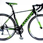 """จักรยานเสือหมอบ RALEIGH """"SUPER RACE"""" เฟรมอลู ชุดขับClaris 16 สปีด 2015"""