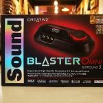 Creative Sound Blaster Omni Surround 5.1 External USB Soundcard เพิ่มพลังและคุณภาพเสียงให้คอมของคุณ รองรับทั้ง Windows และ Mac