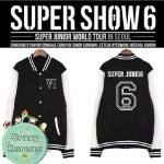 เสื้อเบสบอลแขนยาว SJ 6 : M