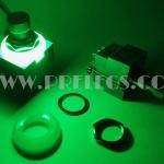 3PDT Foot Switch 9ขา มีไฟ สีเขียว