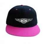 หมวกBTOB (สีดำชมพู)