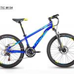 จักรยานเสือภูเขา TRINX เกียร์ 21 สปีด โช้คหน้า เฟรมอลูมิเนียม ล้อ 24 นิ้ว,M134 2018