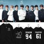 เสื้อฮูดแฟชั่นเกาหลี เสื้อแขนยาว #EXO SING FOR YOU (ระบุไซส์ และ ชื่อศิลปิน)