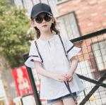 เสื้อ สีขาว แพ็ค 5 ชุด ไซส์ 120-130-140-150-160 (เลือกไซส์ได้)