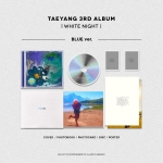 อัลบั้ม #TAEYANG - TAEYANG 3RD ALBUM [WHITE NIGHT] : BLUE VER.