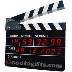 นาฬิกาสเลทสตูดิโอ (Action Movie Alarm Clock)