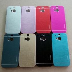 Case HTC One M8 รุ่น Aluminium Hybrid ลายเส้น