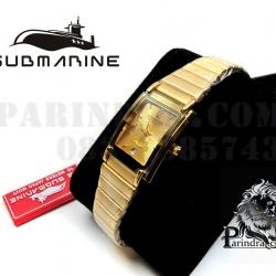 นาฬิกา U.S. submarine รุ่น S1002L สีทองล้วน