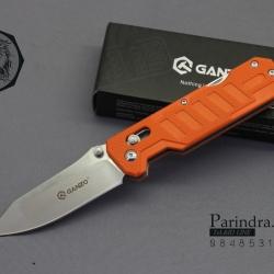มีดพับ Ganzo กานโซ่ รุ่น G-735 OR สีส้ม ของแท้ 100%