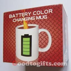 แก้วน้ำเปลี่ยนลาย Battery