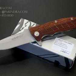 มีดพับ Land Knife GB-912 ด้ามไม้ Classic คมกริบ (ของแท้)