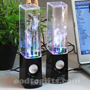 ลำโพงน้ำพุ Dancing Water Speakers