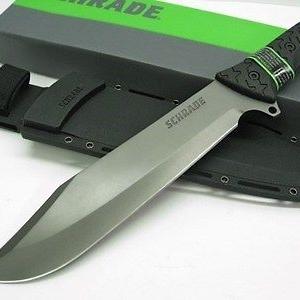 มีดใบตายเดินป่า SCHRADE Knife SCHF45 แกร่ง และ ทรหด (OEM)